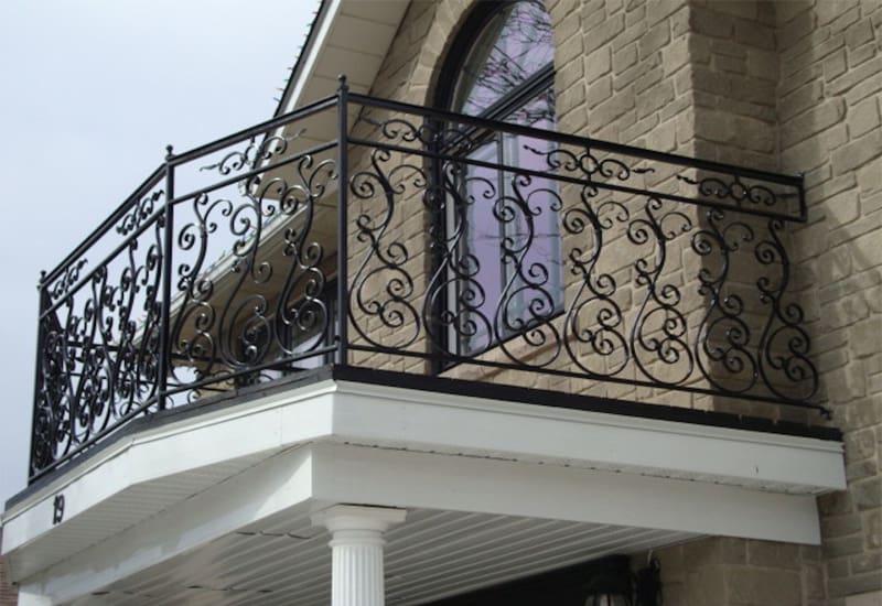 Produk Railing Balkon Besi Tempa